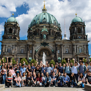 Summer School and the Brandenburger Tor in Berlin
